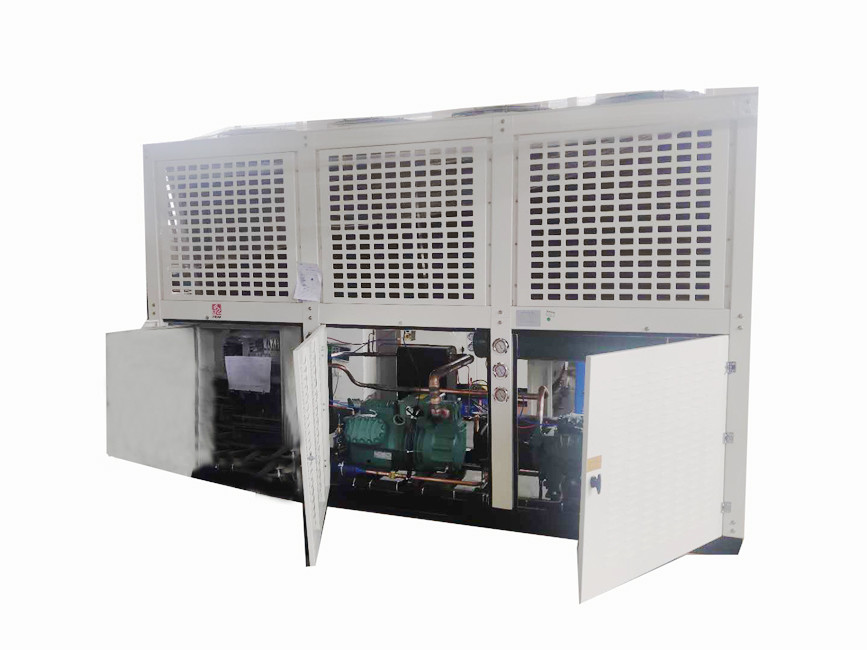 25hp Semi Hermetic Compressor Cascade Refrigerating Unit